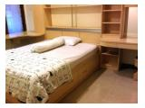 Contoh kamar tidur, lengkap dengan furnitur