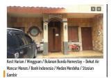 Kost Harian / Mingguan / Bulanan Bunda Homestay – Dekat Air Mancur Monas / Bank Indonesia / Medan Merdeka / Stasiun Gambir